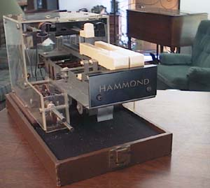 Picture of a two note Hammond