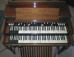 Picture of a 1957 Hammond B3